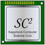 2014-09 Logo, Sagamore Computer Science Club